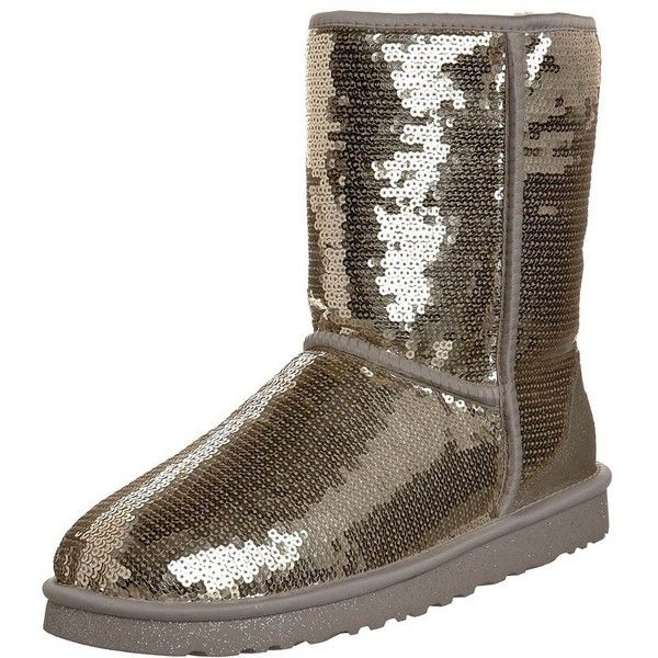 UGG Australia CLASSIC SHORT SPARK Boots ($300) ❤ liked on Polyvore