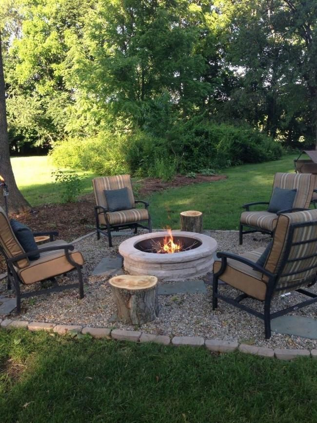 Photo of 25 Shabby Chic Backyard Fire Pit And Seating Area Design Ideas #Area #Backyard #…