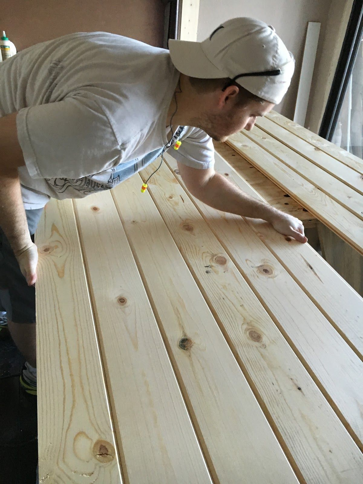 Build A Barn Door The Simplest Way Possible With Tongue And Groove Boards From Home Depot Over I Barn Door