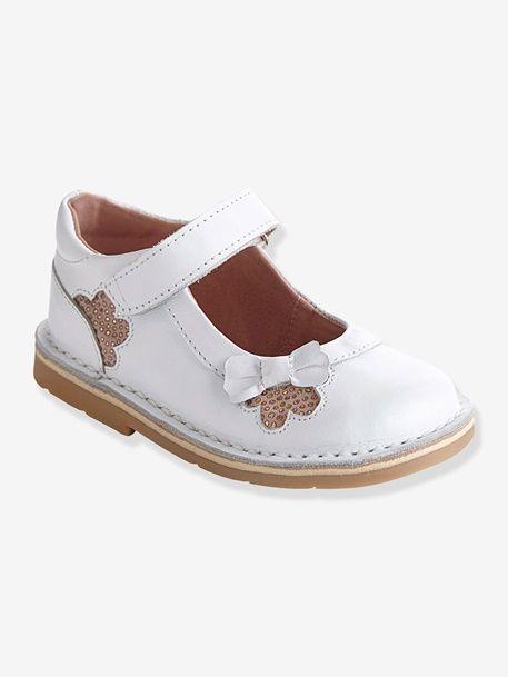 ebf5d73aee4 Zapatos tipo babies de piel para niña