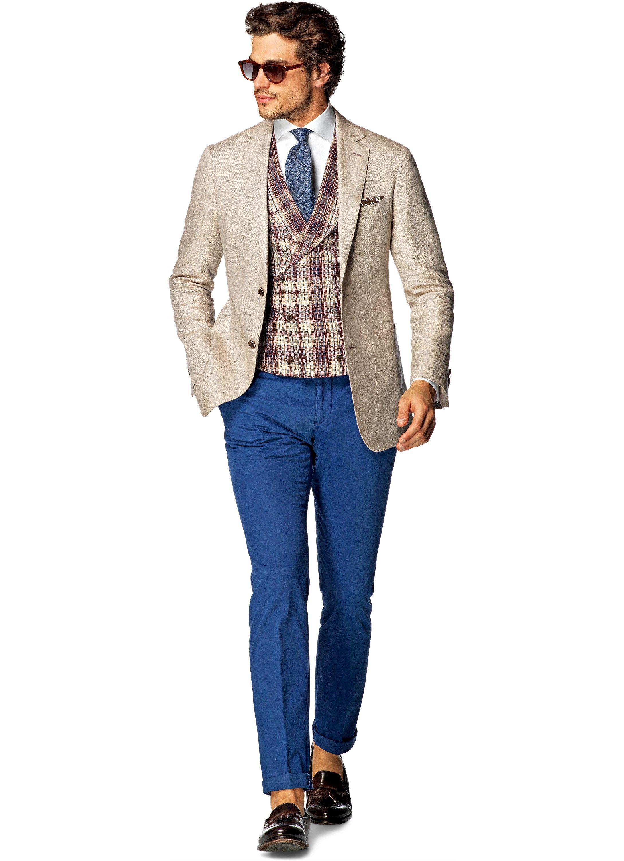 Jacket Light Brown Plain Havana C822i | Suitsupply Online Store