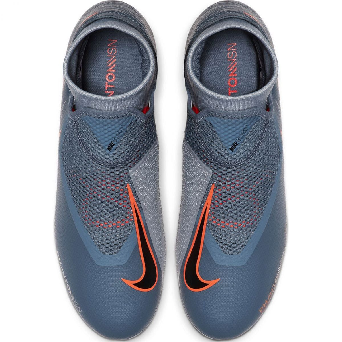 Buty Pilkarskie Nike Phantom Vsn Academy Df Fg Mg M Ao3258 408 Wielokolorowe Szare Football Shoes Nike Football Boots