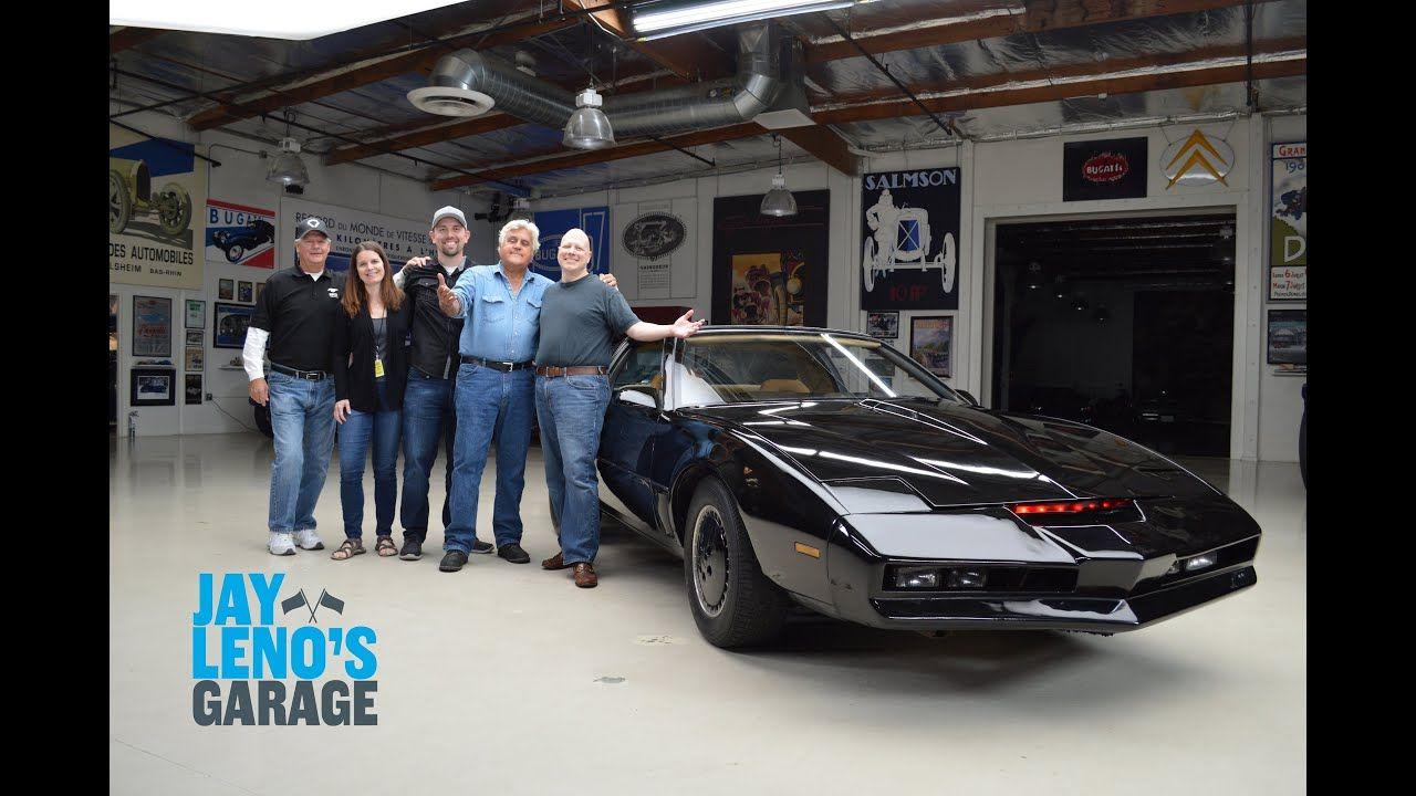 Shipping our Screen Used Knight Rider KITT Car to Jay Leno