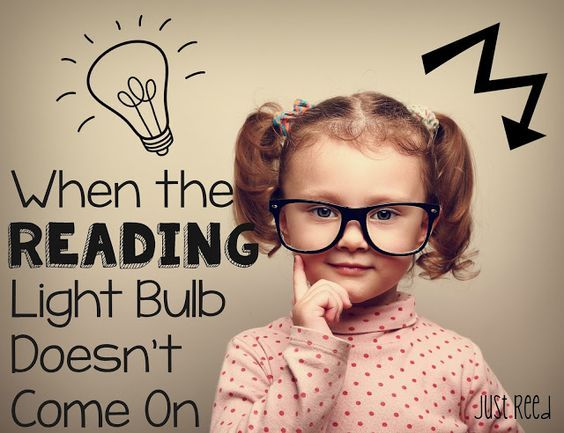 When the {Reading} Light Bulb Doesn't Come On