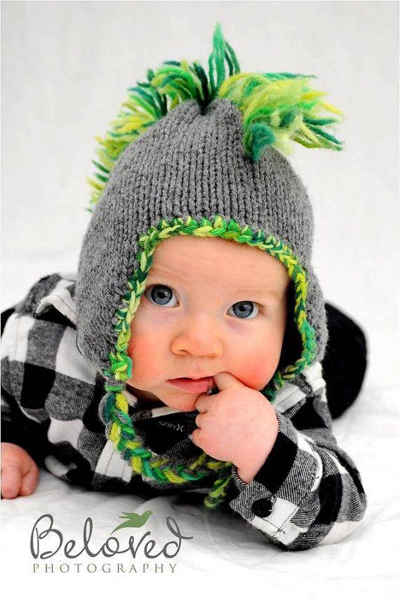 Baby Mohawk Hat Photo Prop by flowergirlsdesigns on Etsy, $25.00
