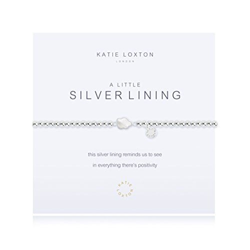 a97c362438 Katie Loxton a little Silver Lining Bracelet ** Find out more about the  great product at the image link. (This is an affiliate link)  #FashionBracelets