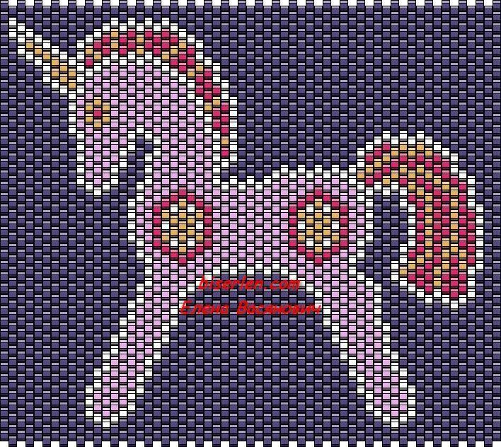 картинки плетение из бисера единорожки пошива