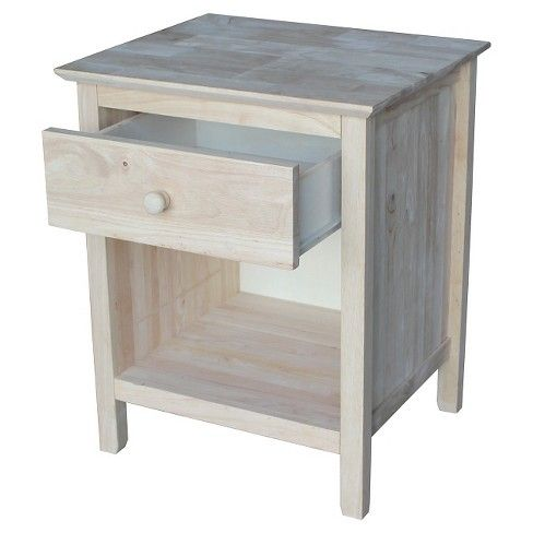 Night Stand Unfinished International Concepts Target Room In