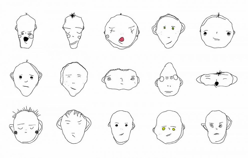Weird Faces To Draw 5