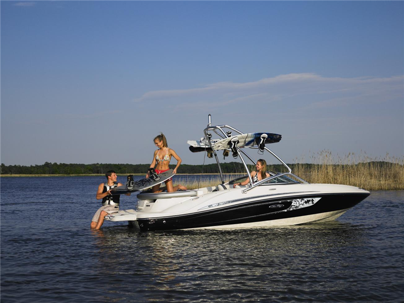 Why Rent Sea Ray/Regal Ski Boat 19' with Tower, 190 HP Deep