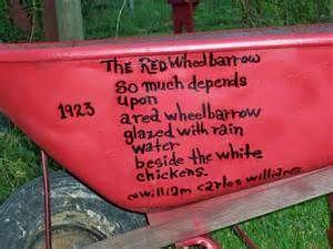 The Red Wheelbarrow By William Carlos Williams Poetry