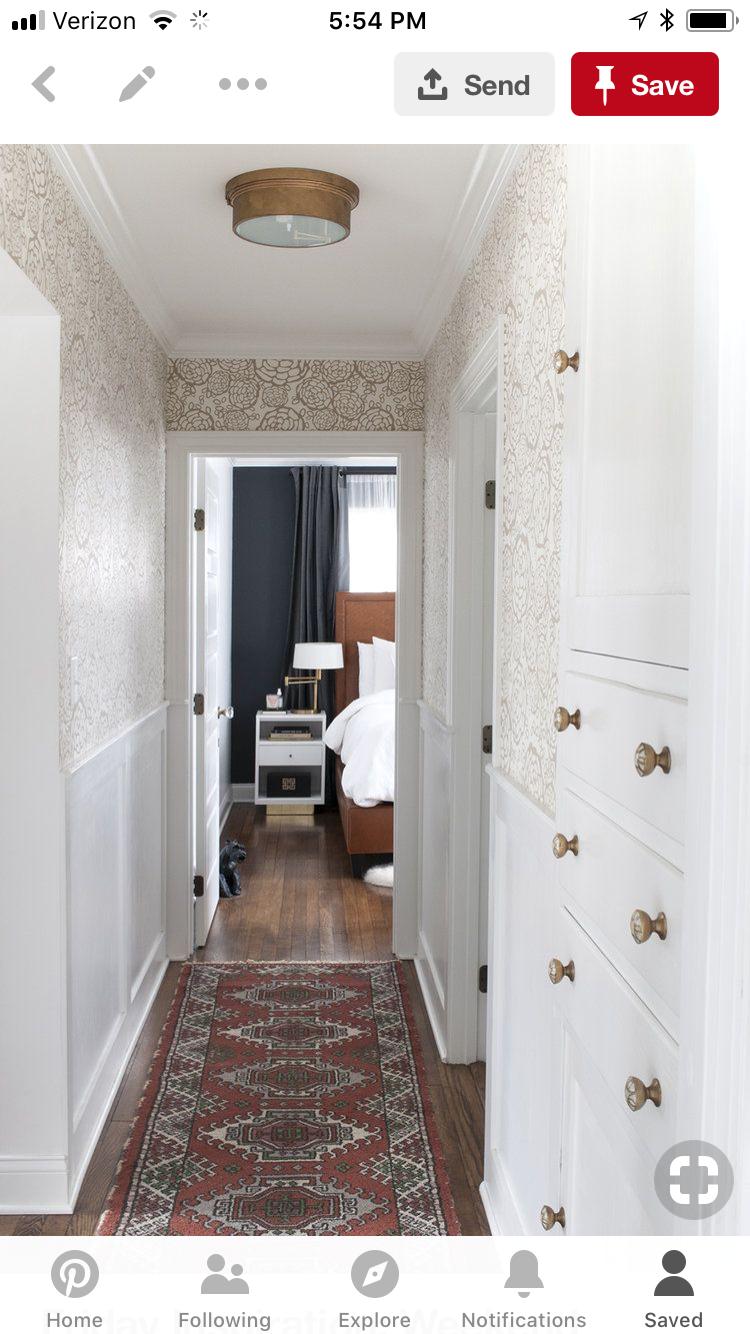 Hallway floor decor  Pin by Kelly Hyatt on Interior desires  Pinterest  Decor Rugs and