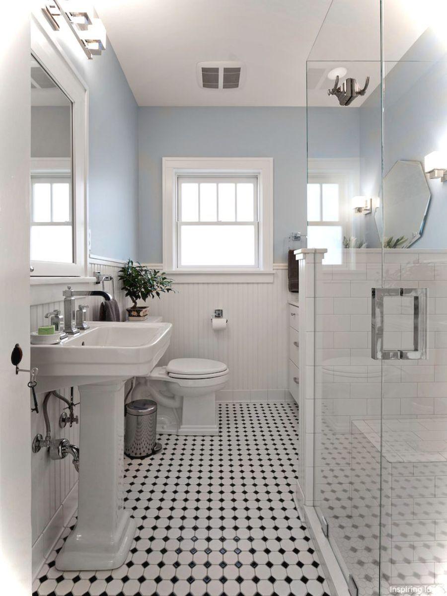 Luxury Black And White Bathroom Ideas 45 Pisos Para Banos Remodelacion De Banos Estilos De Banos