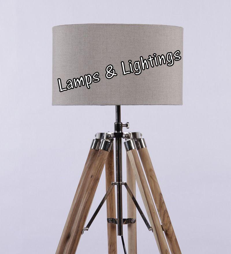 European Style Nautical Floor Lamp Spot Searchlight Industrial