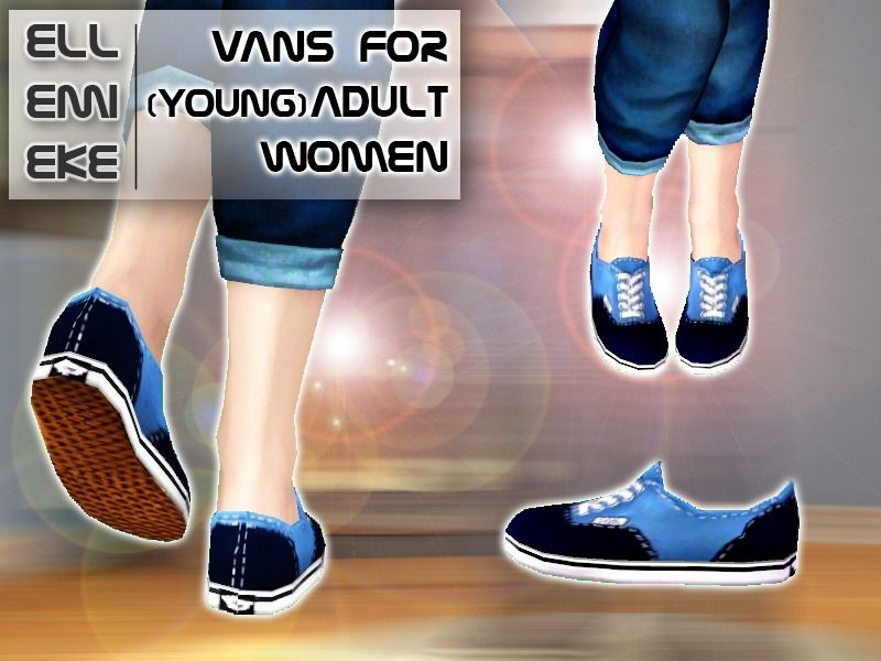 Ellemieke's Vans 'Off the Wall' for (young) Adult Women
