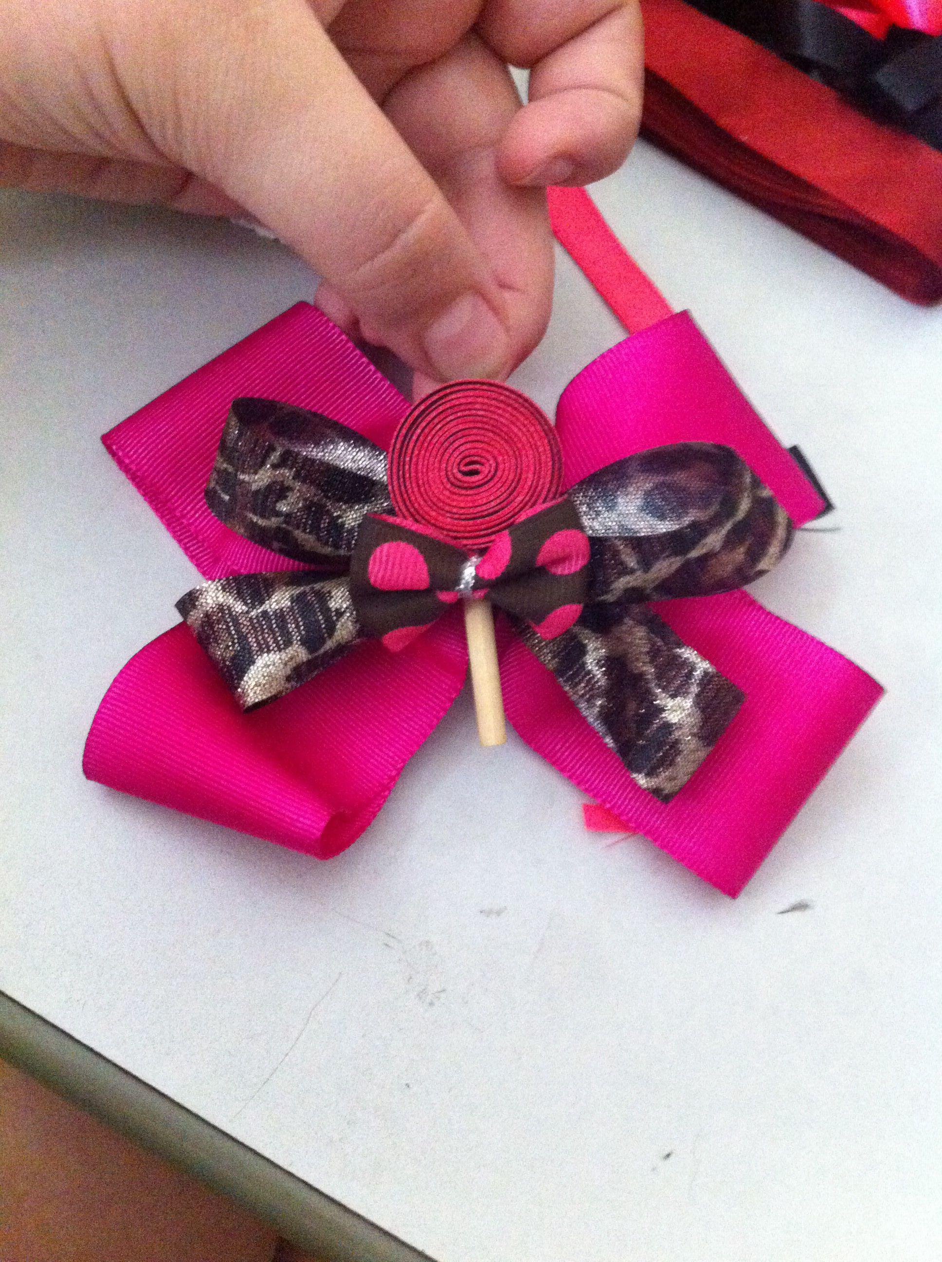 Made by me super cute hair bow bows pinterest hair bow
