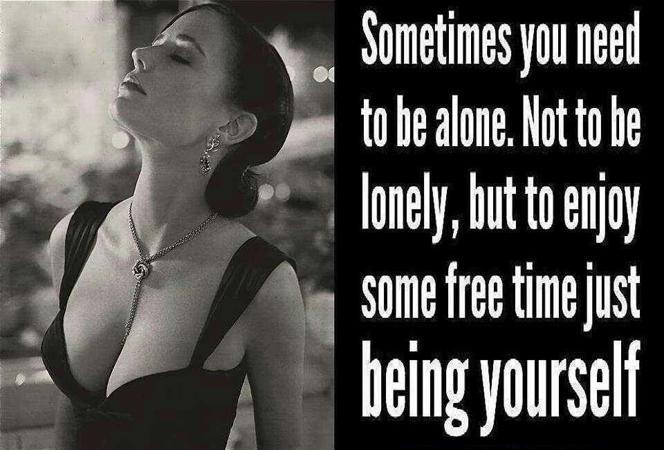 ...being yourself