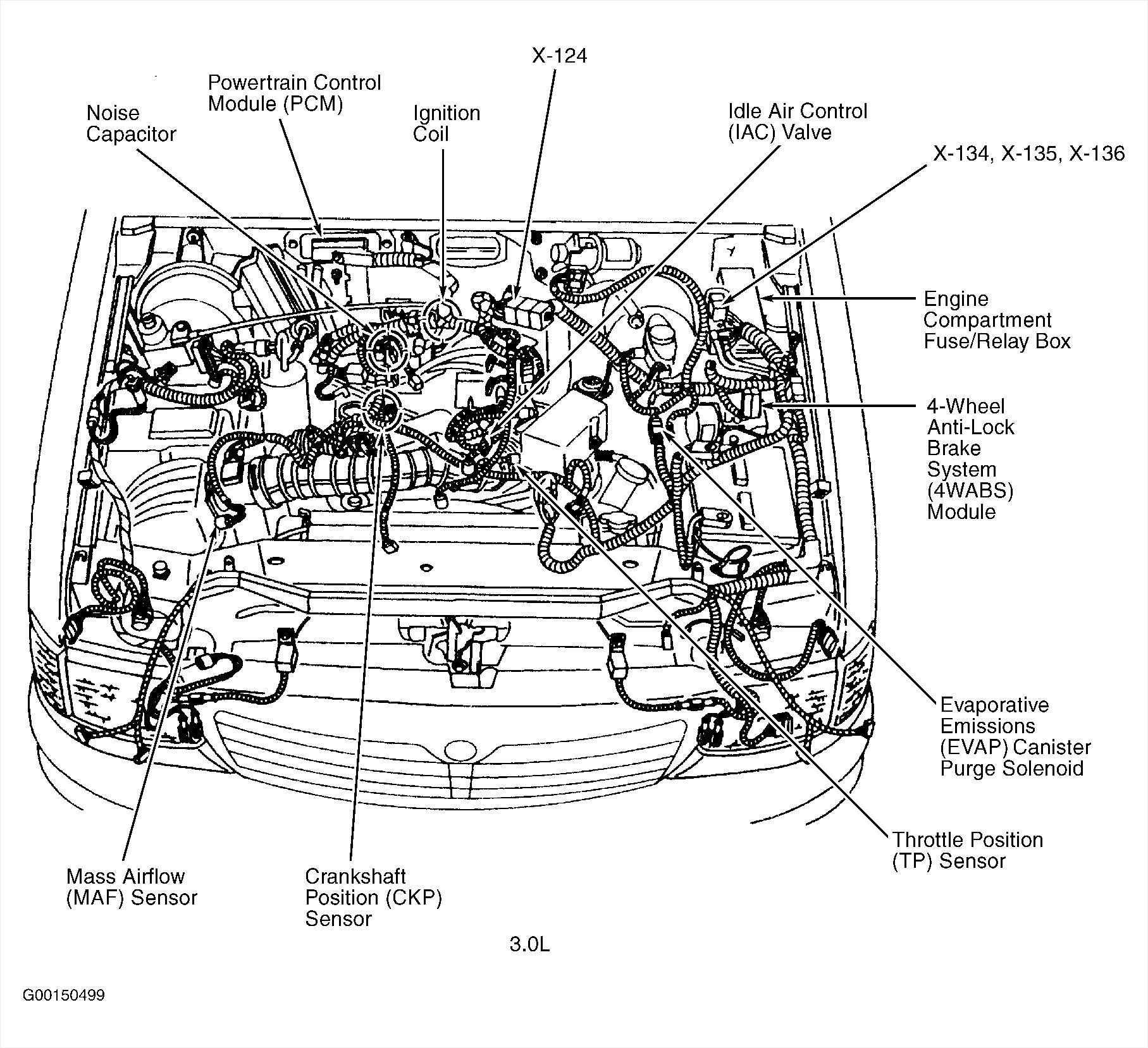 Mazda Protege 5 Engine Compartment Wiring Schematic