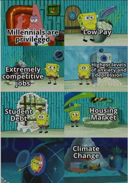 Meme Ok Boomer Cartoon Memes Spongebob Memes Memes