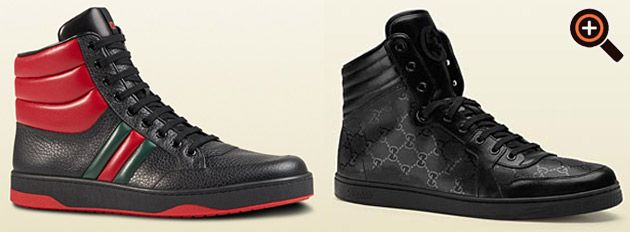 gucci sneaker high top f r damen und herren luxus schuhe magazine fashion design couture. Black Bedroom Furniture Sets. Home Design Ideas