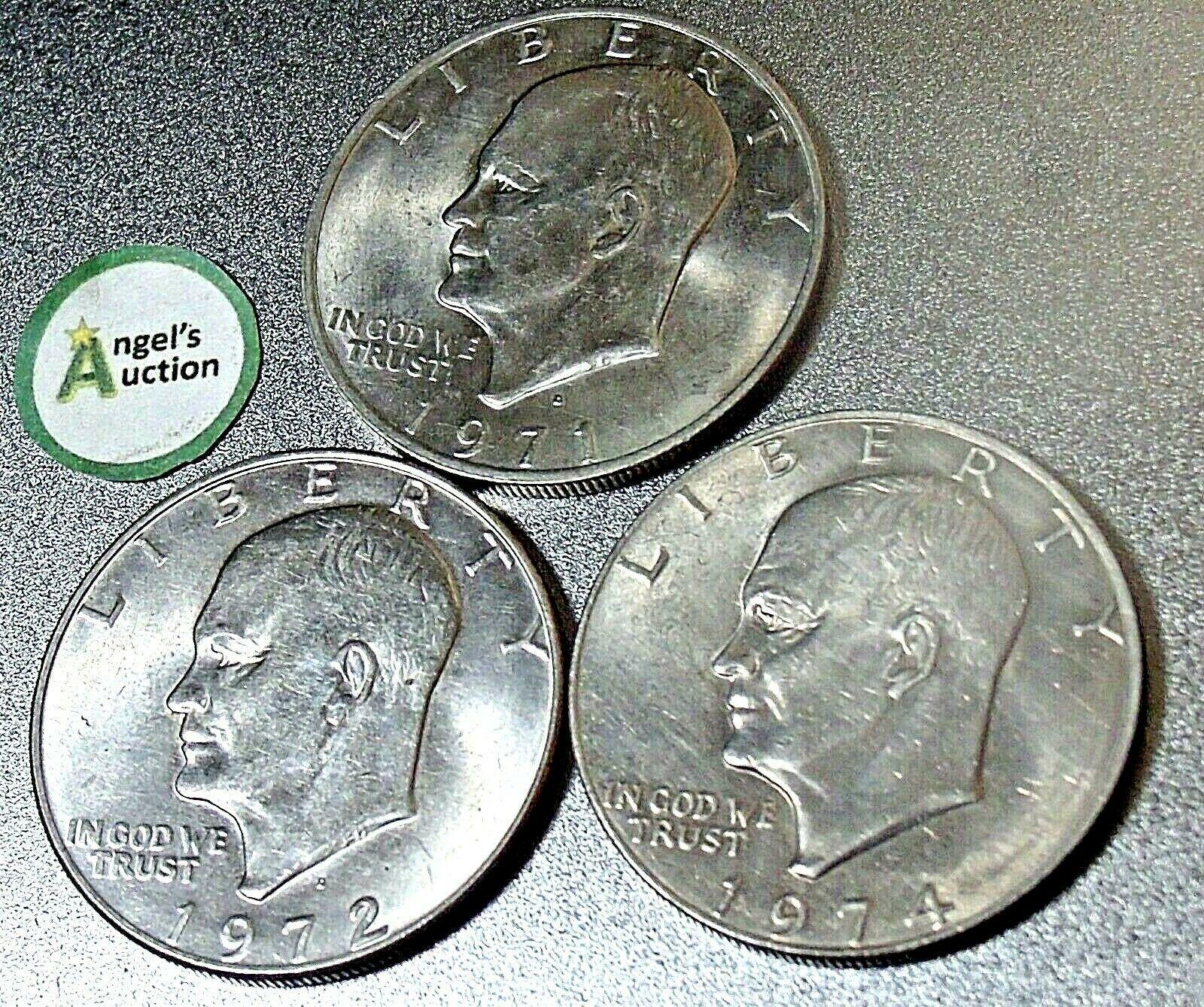 BU 1974 Eisenhower P Dollar