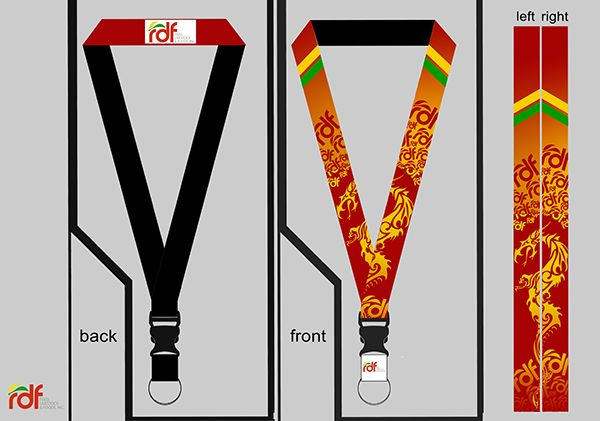 Lanyard Design for Red Dragon Feedmill on Behance | Lanyard ...