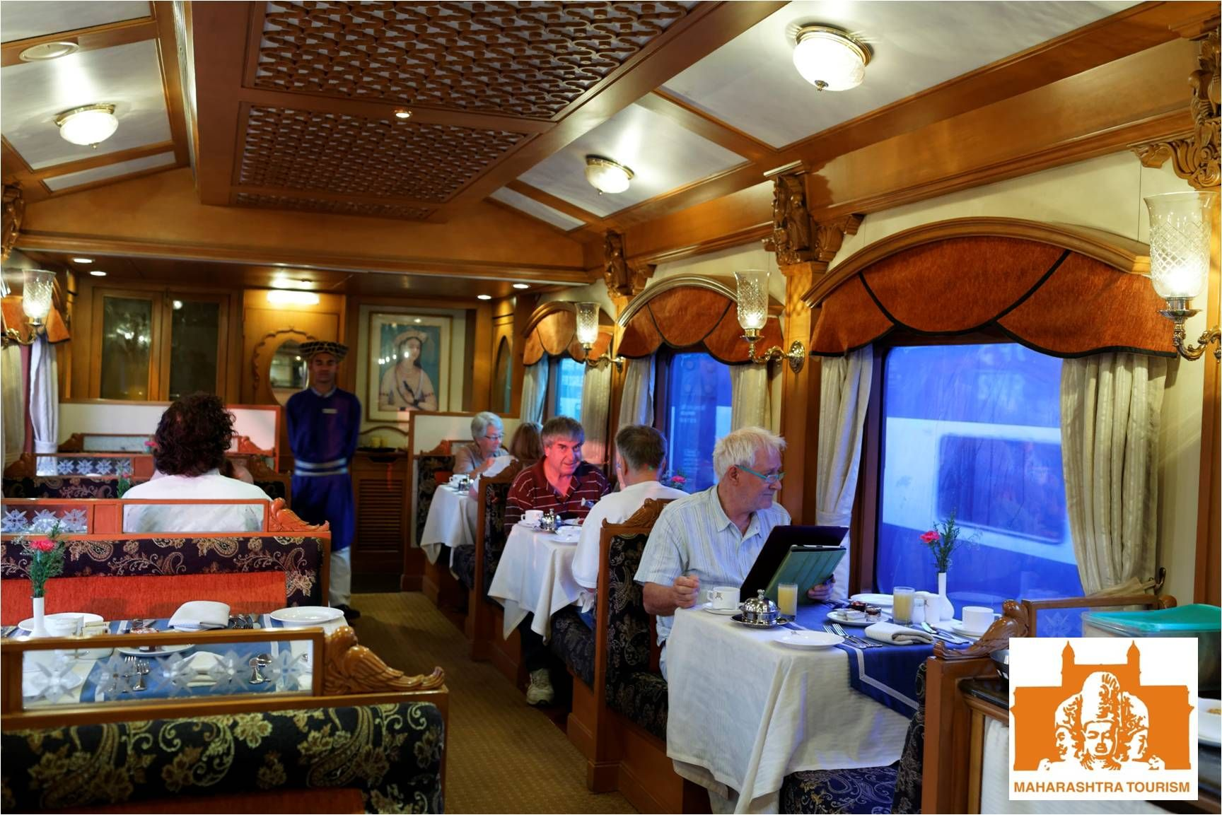 india u0027s very own blue train the deccan odyssey luxury train in