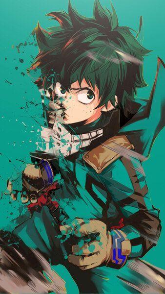 Izuku Midoriya My Hero Academia 4k Hd Mobile Smartphone And Pc Desktop Laptop 4k My Hero Hero Wallpaper Anime