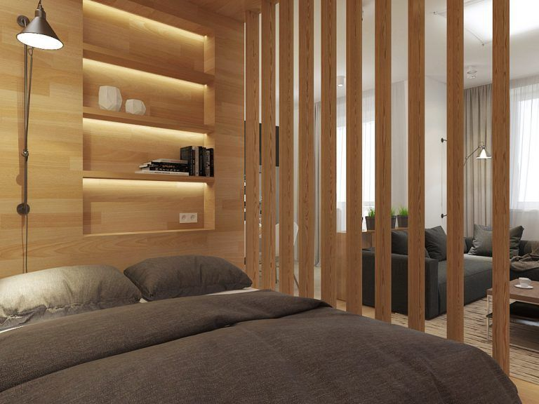 Studio Apartment Design With Creative and Perfect Layout Arrangement