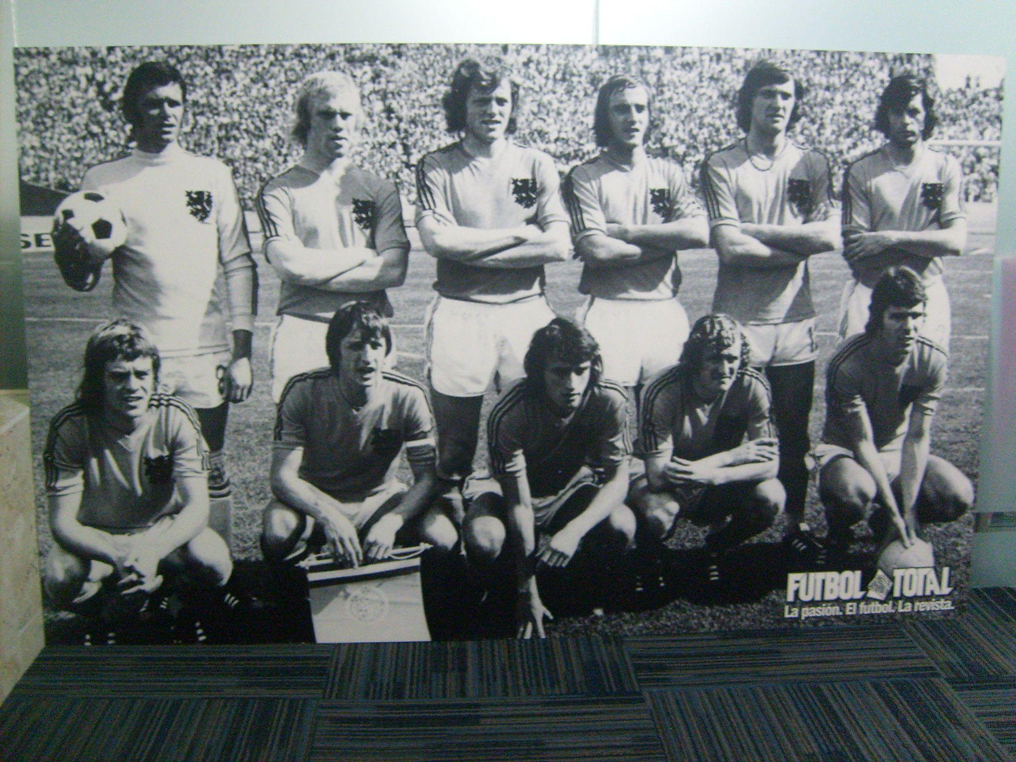 Holanda de 1974. #Cruyff #Holanda