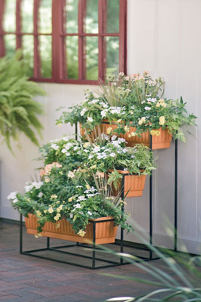 Self Watering Cascade Planter 3 Tier 149 I 39 D Use It