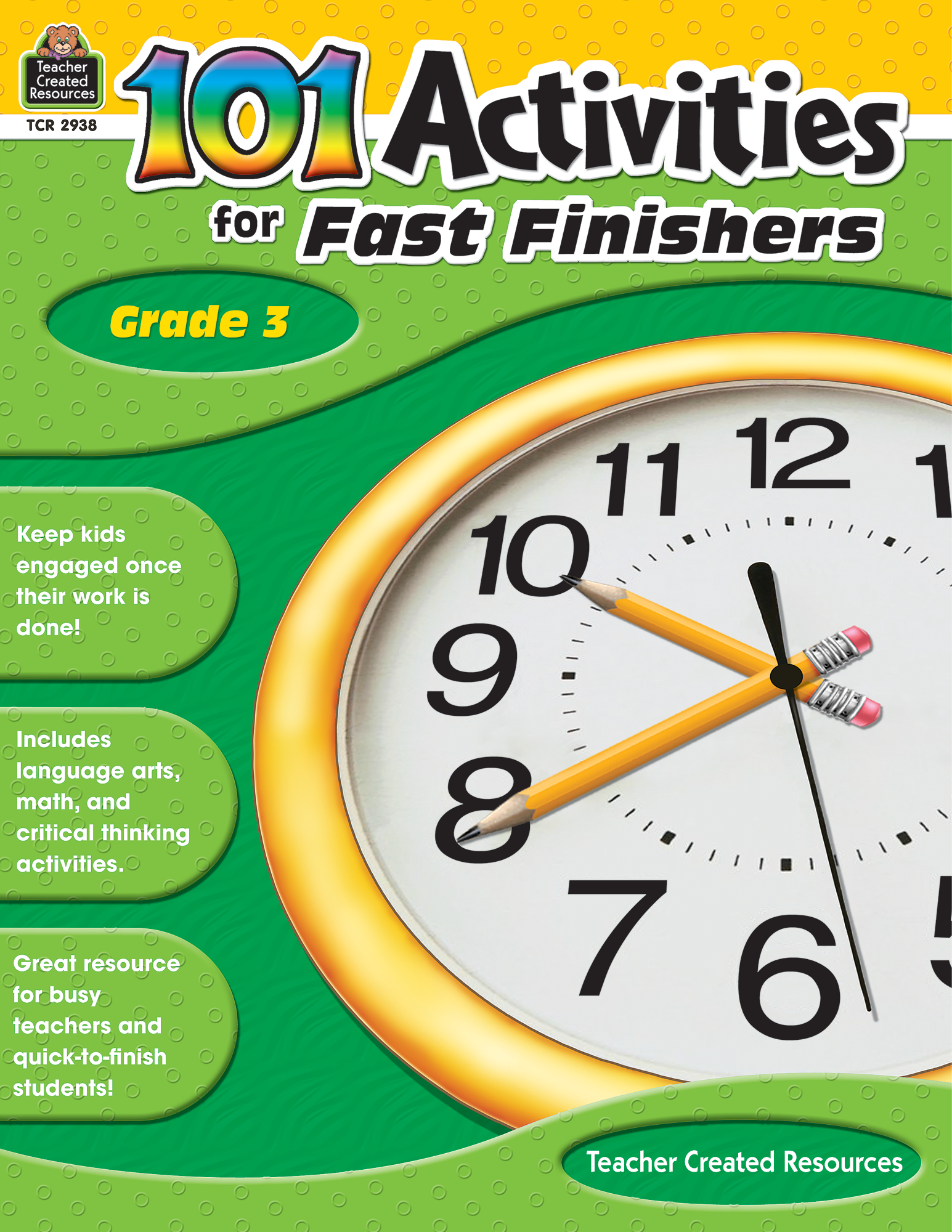 101 Activities For Fast Finishers Grade 3 Standard E Book