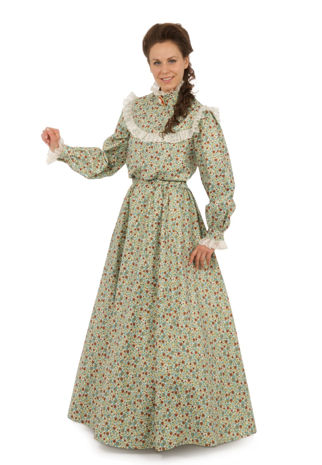 Green Gables Blouse And Skirt Pioneer Dress Pioneer Woman Dress 1800s Dresses [ 1528 x 1060 Pixel ]