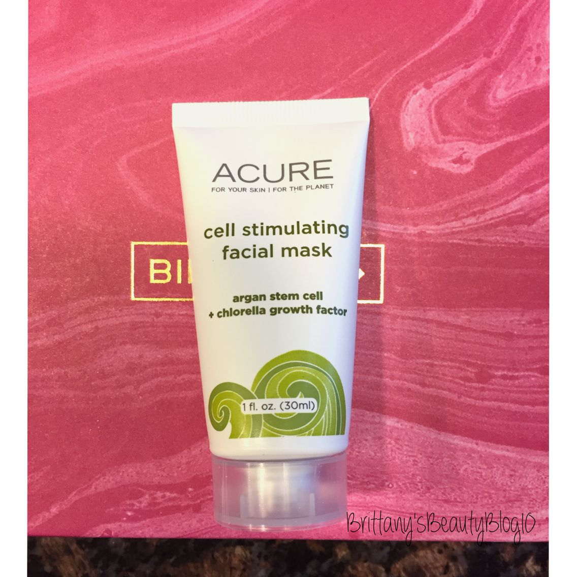 Acure Cell Stimulating Facial Mask (travel Size 1 Fl Oz