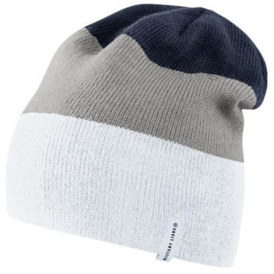 afb2a34a522 Nike Penn State Nittany Lions Sideline Knit Beanie - White Gray Navy Blue