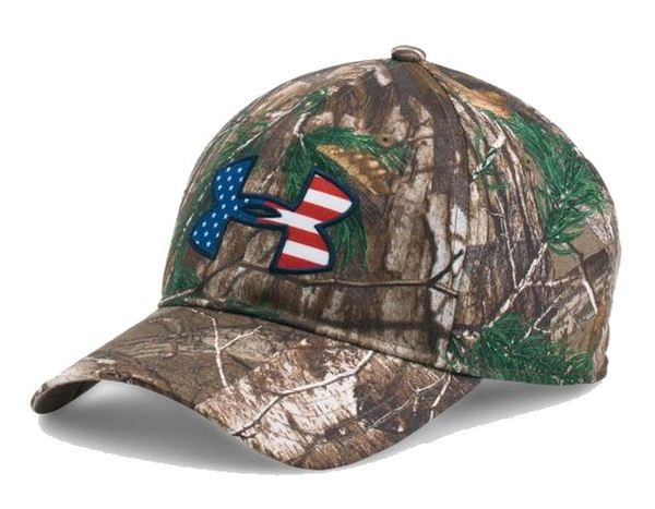 a6f7c8cb6e7 Under Armour Men s UA American Flag Camo Big Logo 2.0 Adjustable Hat 1282392