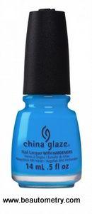 China Glaze- Electric Nights- DJ Blew my Mind