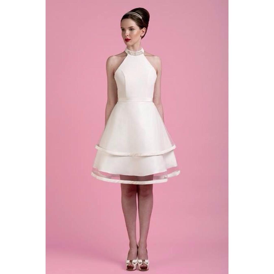 Wonderful Wilma! #shortweddingdress #60sstyle #vintagebride ...