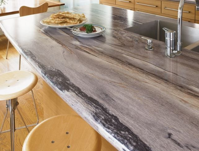 Formica 180 Marble Countertop 3420 46 Dolce Vita Etchings 180 Fx Laminate Via Houzz Cool Formica Countertops Countertop Design Modern Kitchen