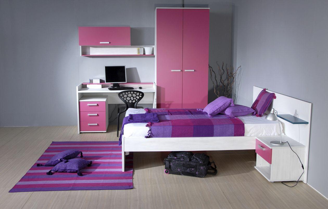 Decoracion de dormitorios juveniles para mujeres for Disenos de interiores de cuartos juveniles