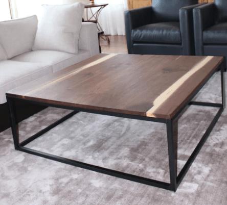 10 Stunning Handmade Coffee Table Ideas Square Coffee Table Metal Coffee Table Coffee Table Metal Frame