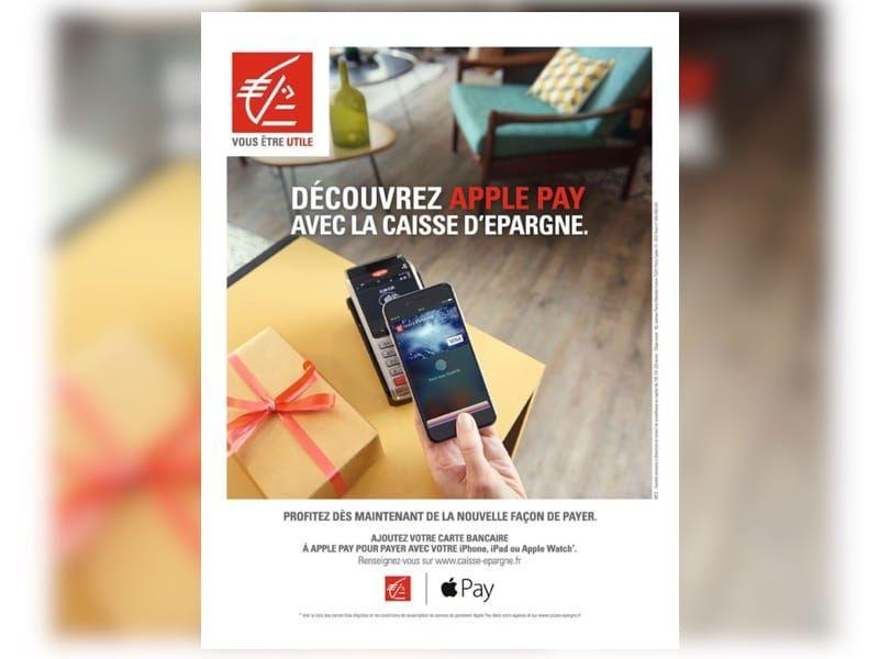 La Caisse D Epargne Fait La Pub D Apple Pay Apple Pay France Apple