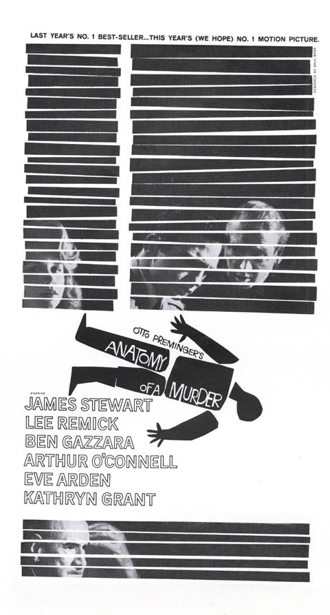 Anatomy Of A Murder Courtroom Crime Drama Film By Otto Preminger