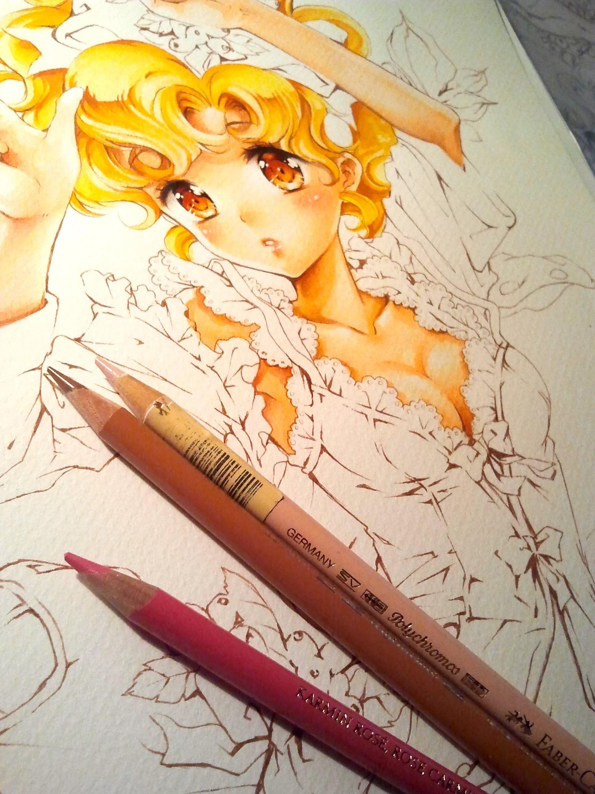 как рисовать аниме рисунки фломастерами: 6 тыс изображений ...