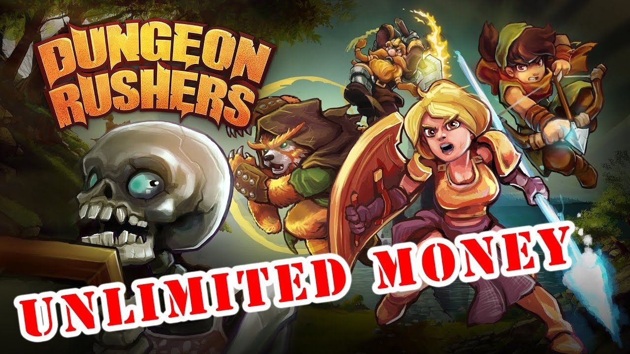 Dungeon Rushers Mod Apk Mod Unlimited Money 1.3.11