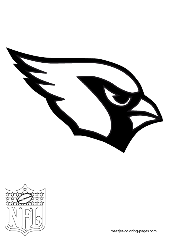 Az Cardinals Coloring Pages In 2020 Sports Coloring Pages Arizona Cardinals Arizona Cardinals Logo