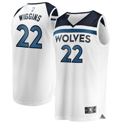 Youth Minnesota Timberwolves Andrew Wiggins Fanatics Branded Blue Fast Break  Replica Jersey - Icon Edition  ad  jerseys  basketball 23ff79936