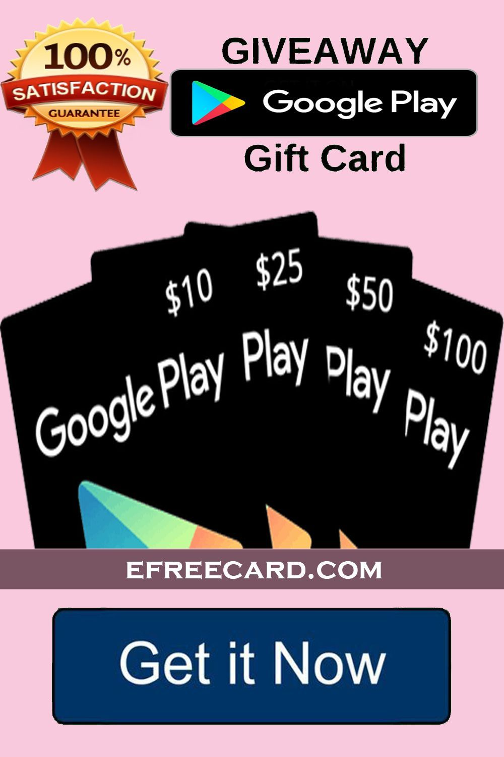Redeem Code for Playstore Win Playstore gift card free