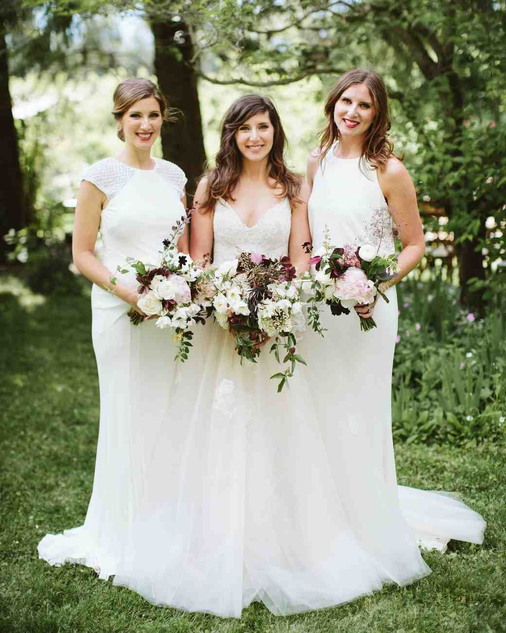 A Scenic Nature Inspired Wedding In Oregon Bridesmaid