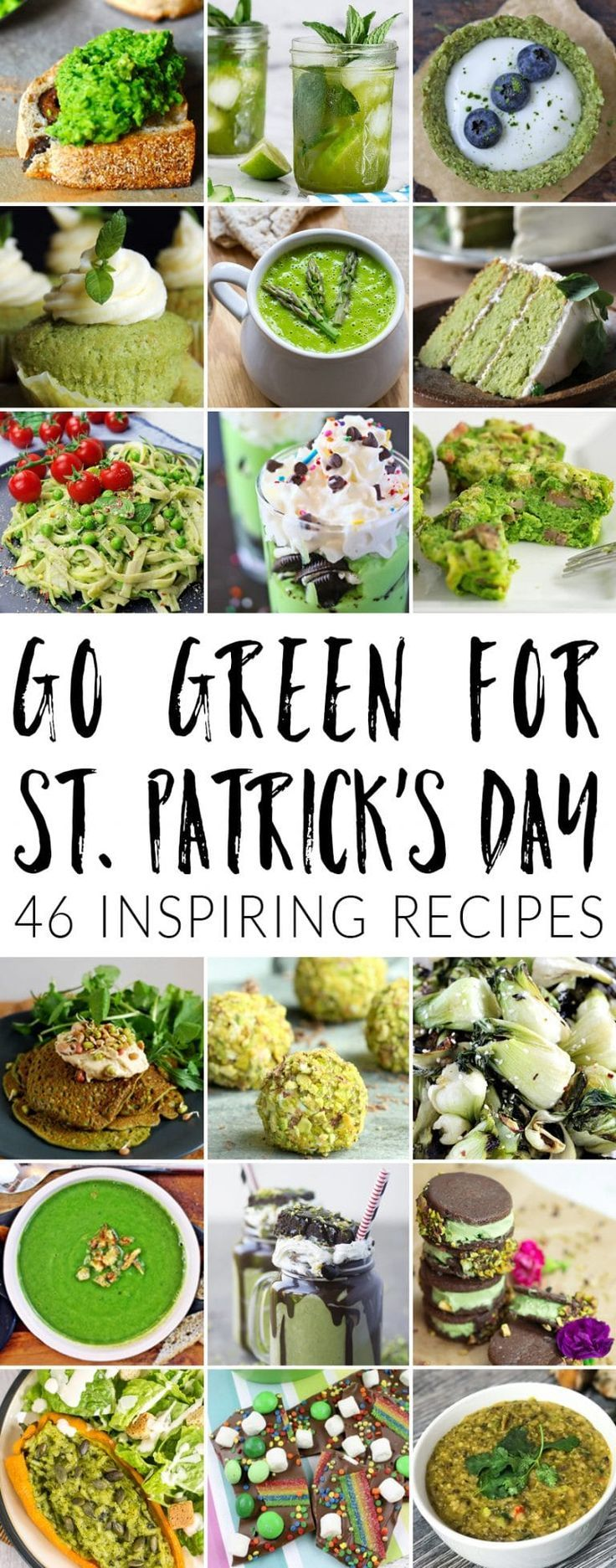 Go green for St Patrick's Day: 46 inspiring recipes